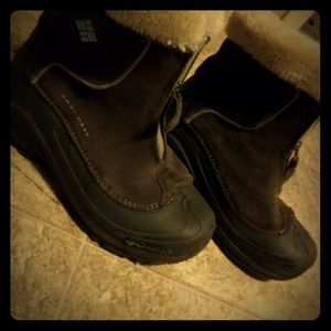 Girl's Omniheat Columbia Snow boots